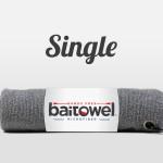 Overcast Gray Fishing Towel