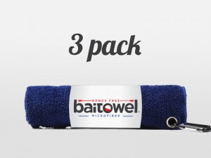 Fishing Towels 3 Pack Navy Blue