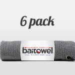 Microfiber Fishing Towel Overcast Gray