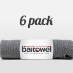 Microfiber Fishing Towel Overcast Gray