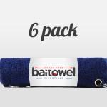 Microfiber Fishing Towel Navy Blue