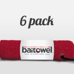 Microfiber Fishing Towel Blood Red