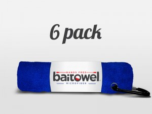 Microfiber Fishing Towel Royal Blue 6 pack