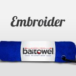 Royal Blue Bait Towel Microfiber 3 Pack