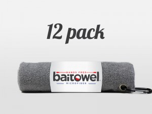 Fishing Towel Value 12 pack Gray