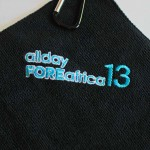 Logo Fishing Towels Embroidered
