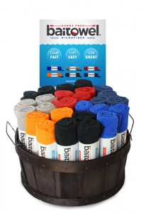 48 Piece Bait Towel Basket