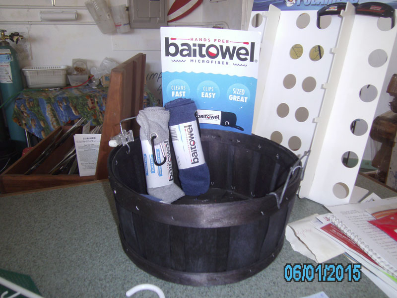 Bait Towel Retail Basket