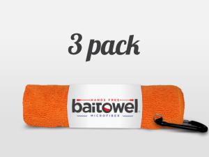 Orange Crush Bait Towel